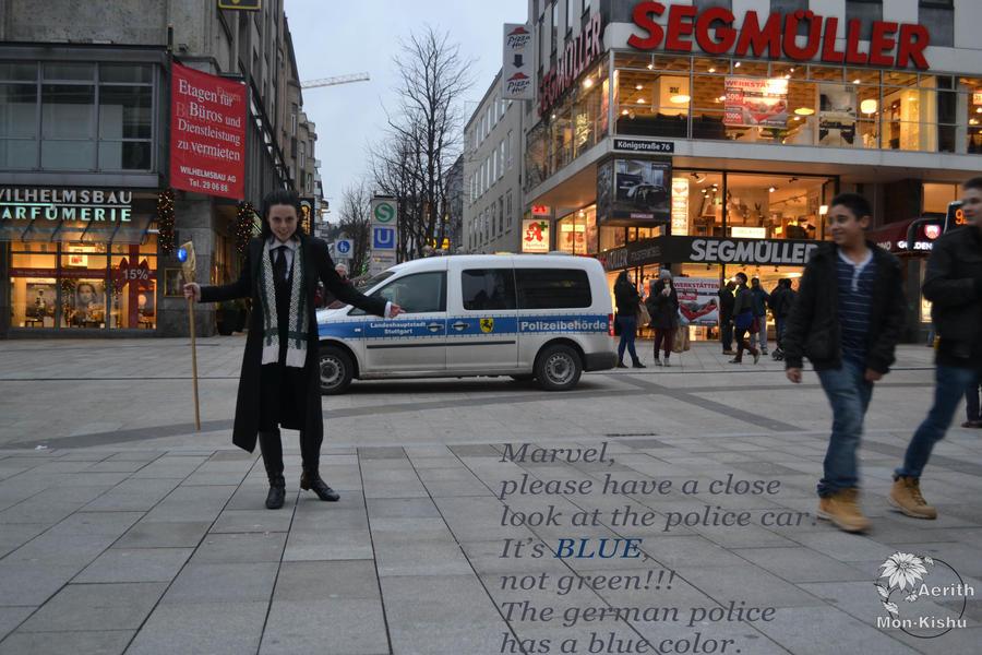 LOKI Cosplay in the REAL Stuttgart 19 by Mon-Kishu