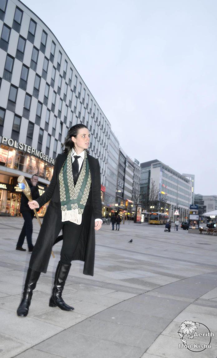 LOKI Cosplay in the REAL Stuttgart 23 by Mon-Kishu