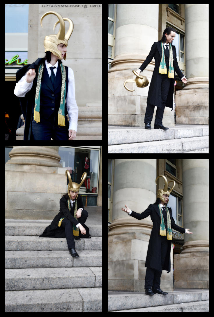 Loki Cosplay - back in Stuttgart 02-05 by Mon-Kishu