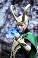 Loki Cosplay - Magic by Mon-Kishu