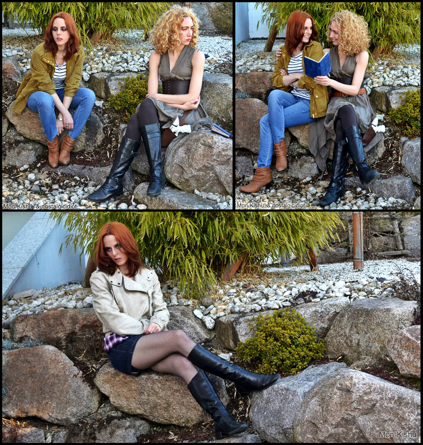 River Song and Amy Pond - Doctor Who Cosplay