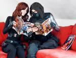 Winter Soldier Black Widow - Captain America comic