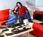 Winter Soldier / Black Widow Cosplay safe house 1