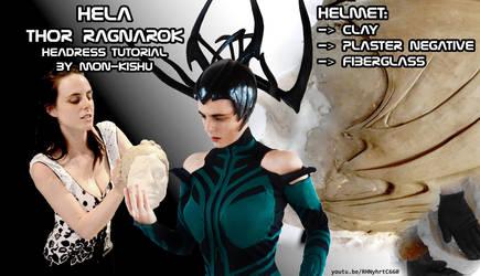 Hela Thor Ragnarok Cosplay tutorial headdress by Mon-Kishu