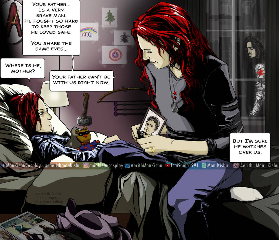 Bloodline - Chapter 1 - Aerith_Mon_Kishu - Captain America