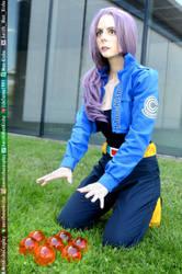 Trunks Cosplay Dragon Ball Z Comic Con #Princess