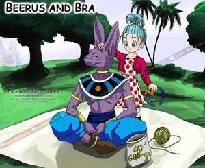 Beerus and Bra / Bulla Briefs - Dragon Ball Super