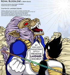 Dragon Ball Super Vegeta Trunks Lavender Oozaru