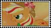 Rainbow  Power Applejack Stamp by XxRhian-MidnightxX