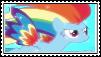 rainbow dash Power Stamp by XxRhian-MidnightxX