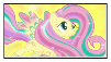 fluttershy power stamp by Reshiram95
