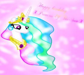 happy birthday princess celestia