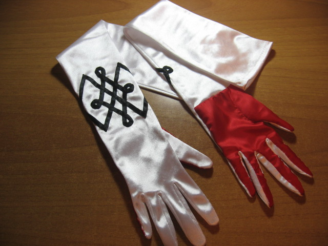 Bayonetta Gloves by DiroPetra