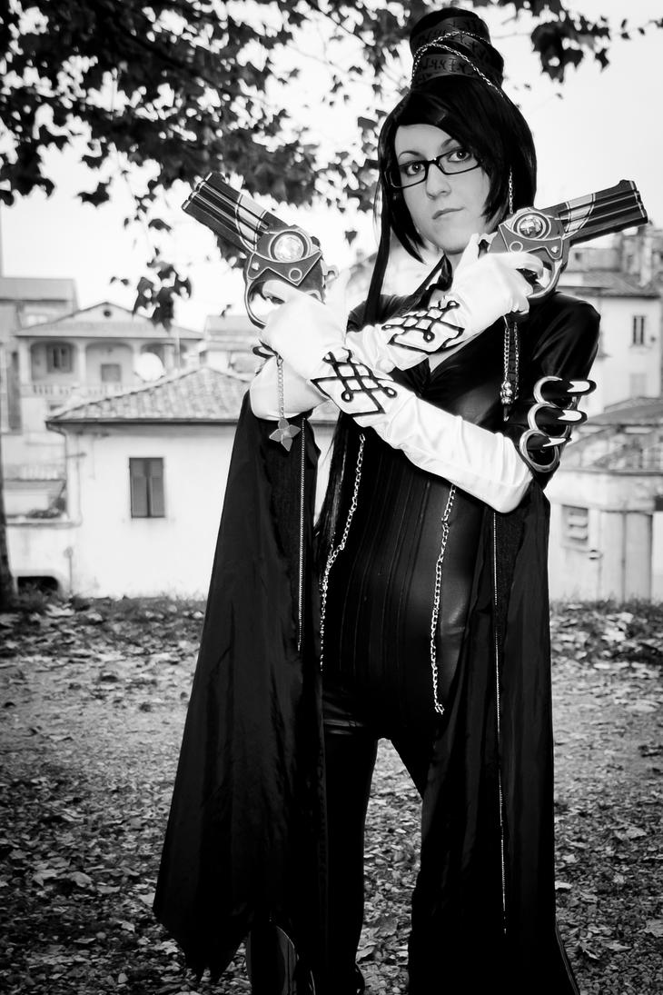 Bayonetta white and black by DiroPetra