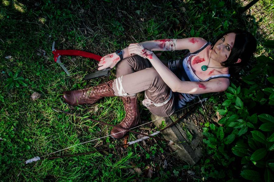 Lara Croft 3 by DiroPetra