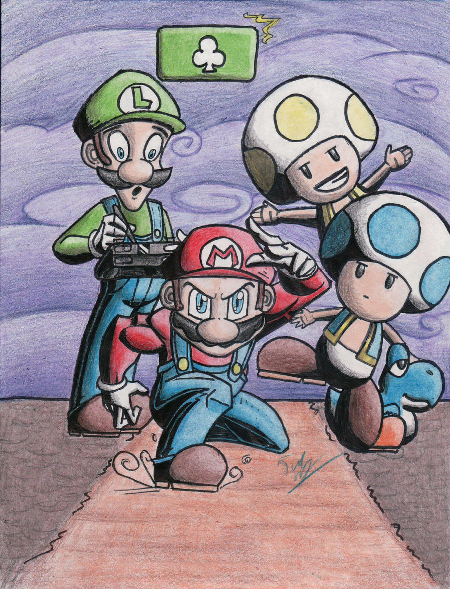 New Super Mario Bros U by Twinkie5000