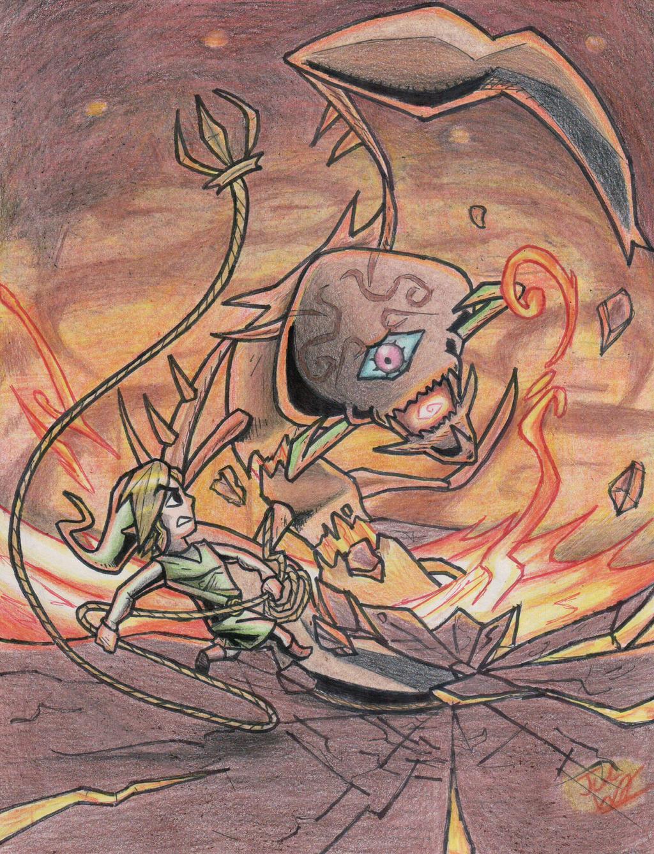 Link's Blacklist: Gohma Battle by Twinkie5000