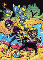 Wario Bros. by Twinkie5000