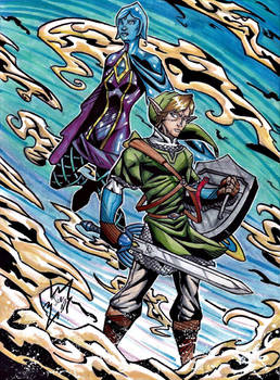 Link and Fi