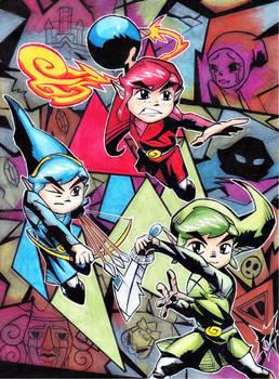 Triforce Heroes