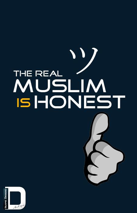 Honest by islamicdesignz