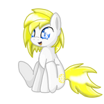 ::COM:: cute sitting pony for Isacc20 by Patty-Chickens