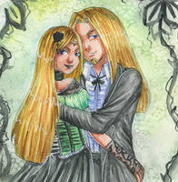 Lucius and Narcissa by Serafina-Malfoy
