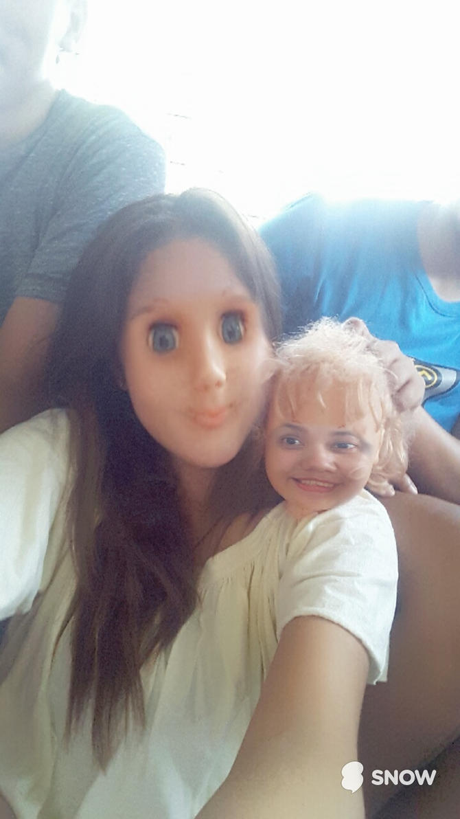 Face Swap with a Doll by GmLordN