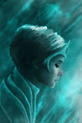 icy woman