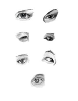 practice eyes