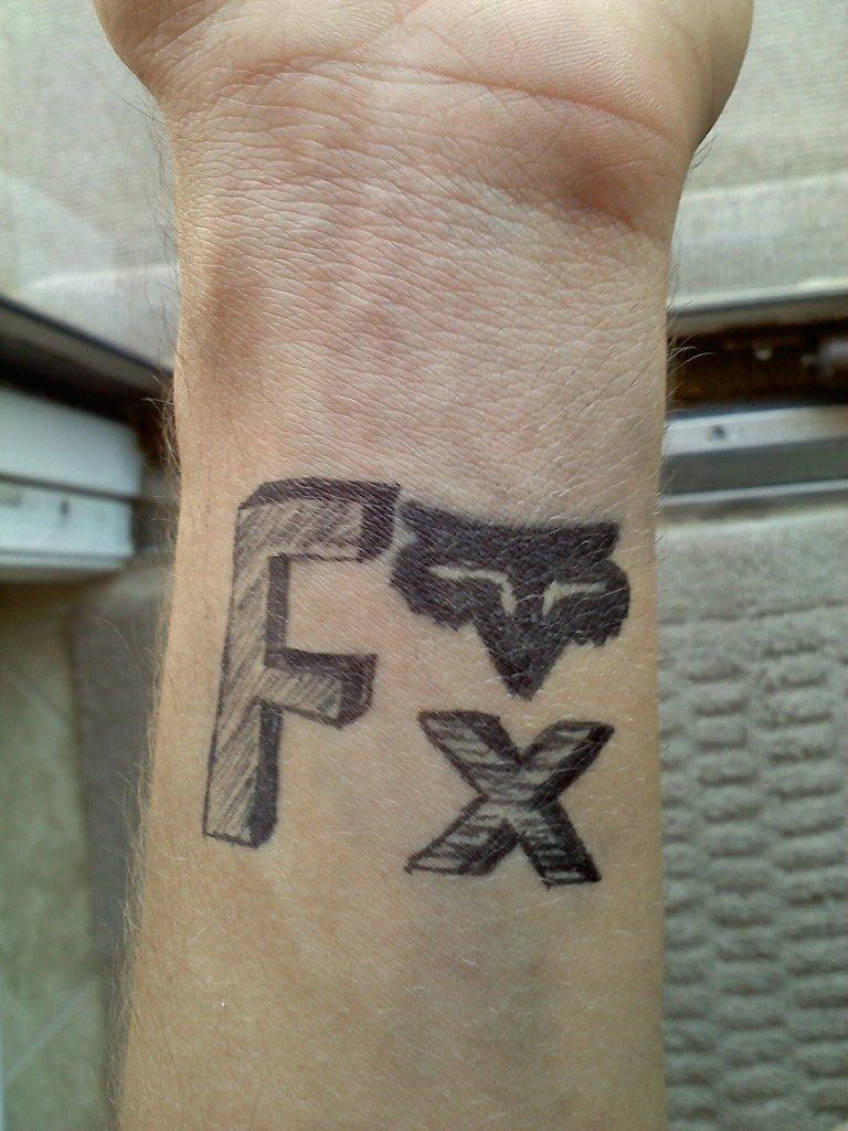 fox tattoo permanent marker by teknohusky on deviantart
