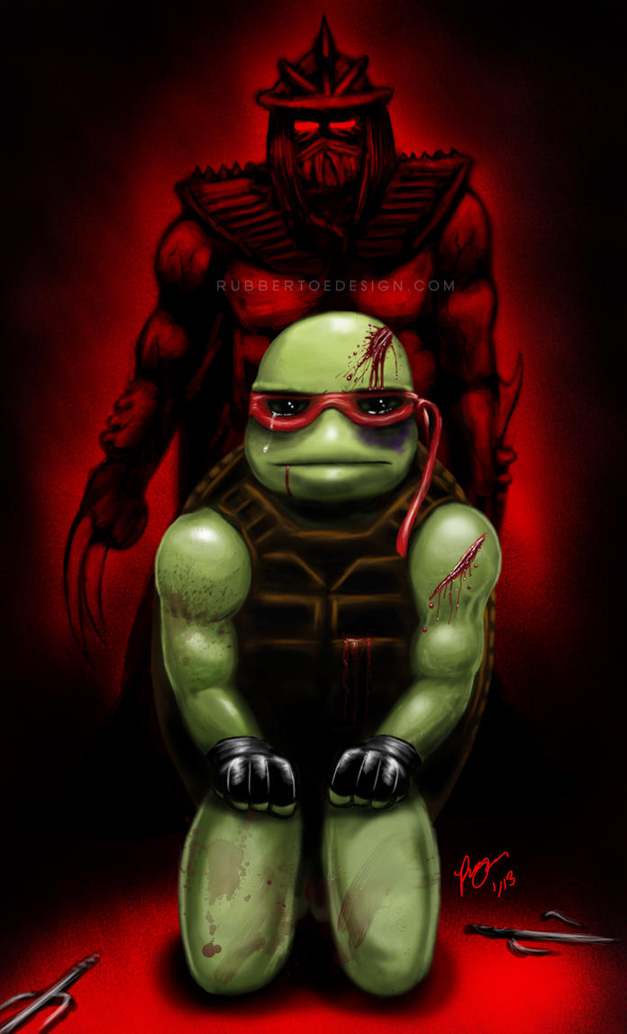 Raphael's End by Rubber-toe