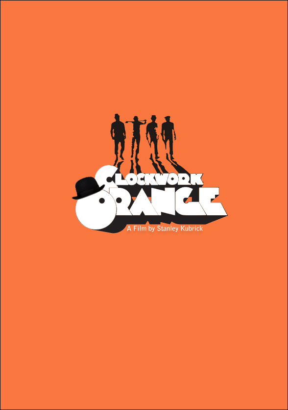 Clockwork Orange Minimalist Movie Poster by CarlitoJay on ... A Clockwork Orange Minimalist Poster
