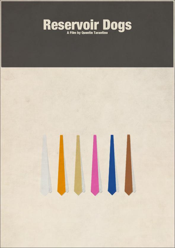 Reservoir Dogs Minimalist Movie Poster by CarlitoJay on ...