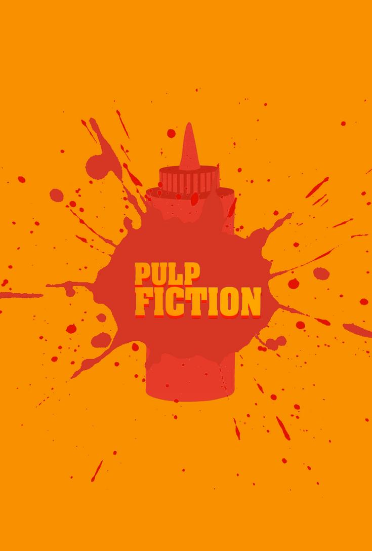 Pulp Fiction Minimalist Movie Poster By CarlitoJay