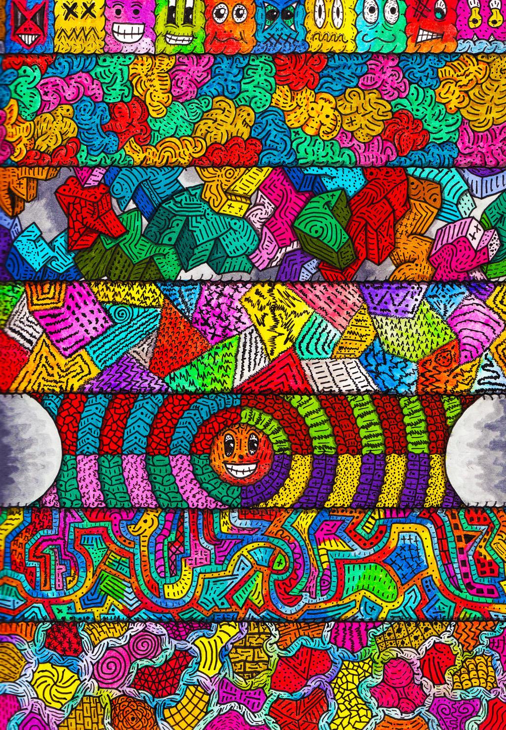 Blackbook - Stripes of Styles by Loggaa