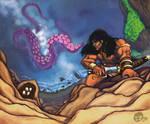 Conan On the Cliffs