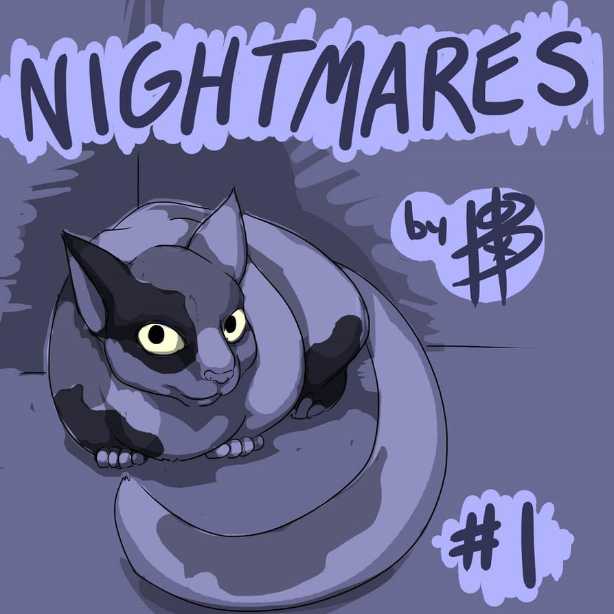 NIGHTMARES: TITLE PAGE by ferretywrath