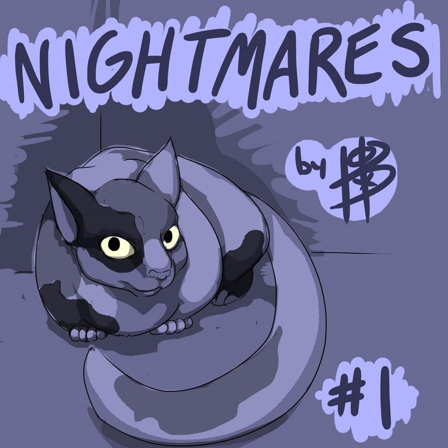 NIGHTMARES: TITLE PAGE by ferretywrath