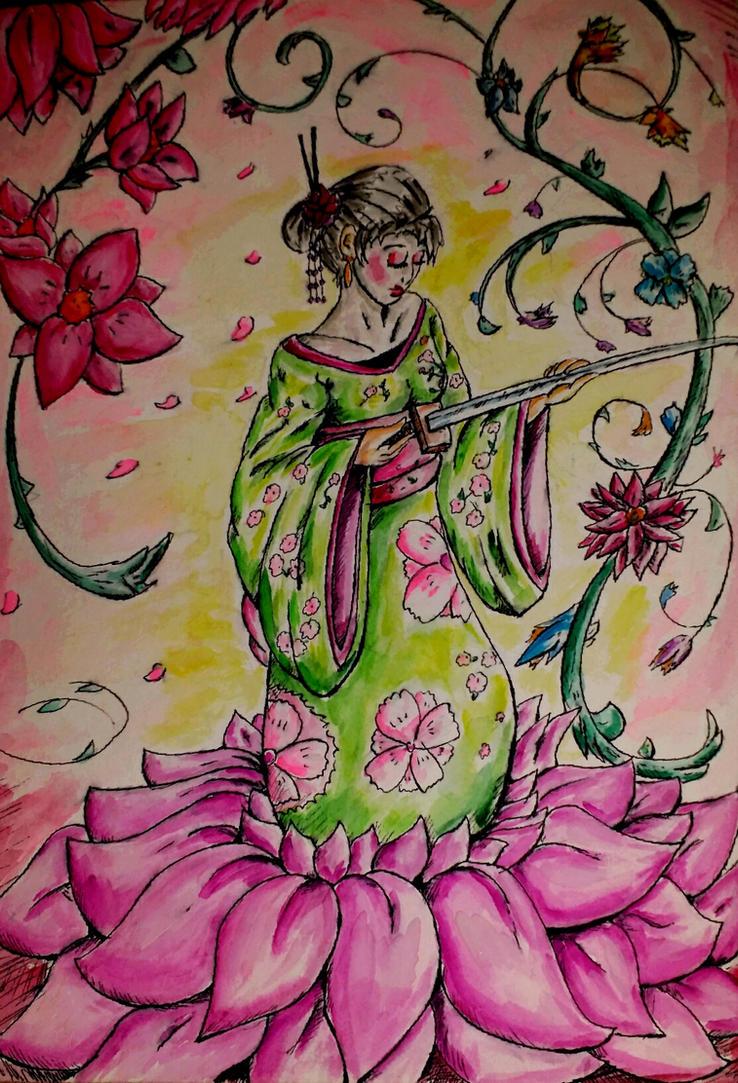 sakura by warprincess