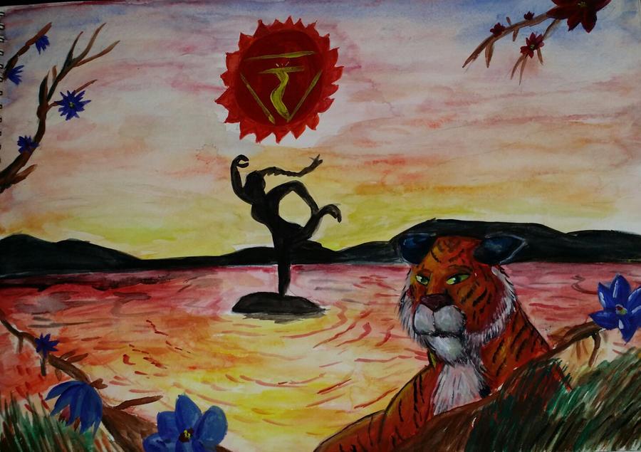 Hot tiger by warprincess