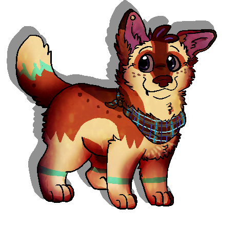 Teacupcorgi by Fuchsianess