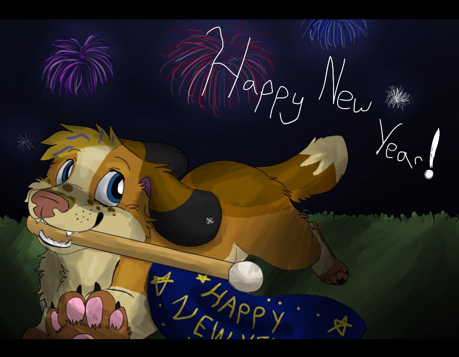 Happy New Year! by Fuchsianess