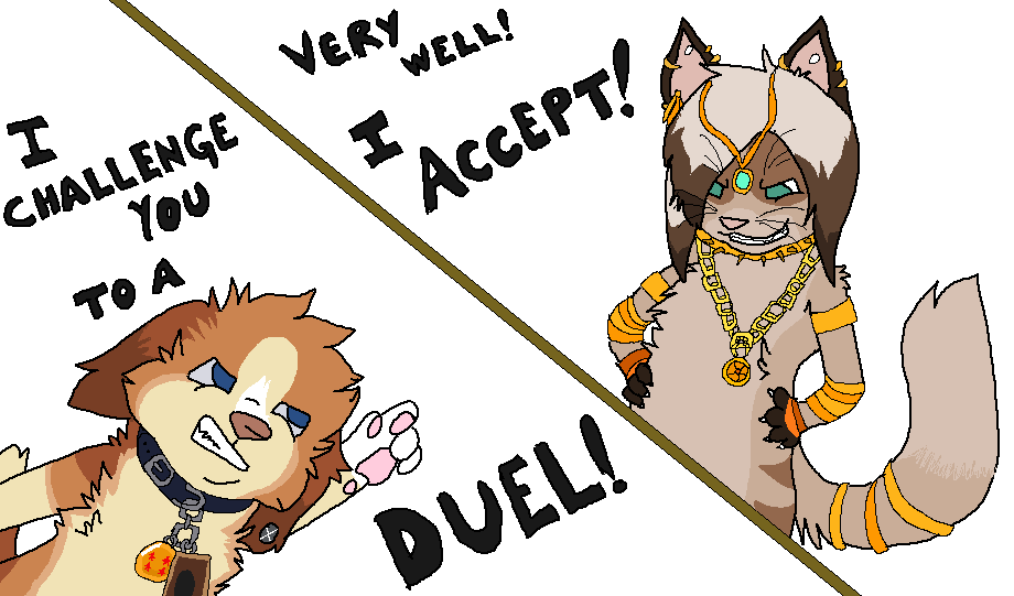 I Challenge You to a Duel! by Fuchsianess