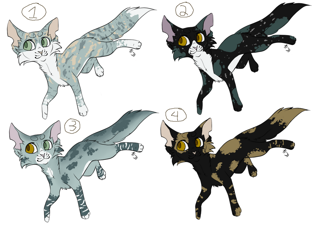 Warriors Adoptables (OPEN) by Fuchsianess