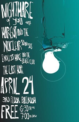 April 24, poster 2 by jamesacklin