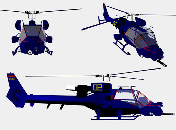 Blue thunder by bagera3005 on deviantart blue thunder helicopter by gustvoc malvernweather Image collections