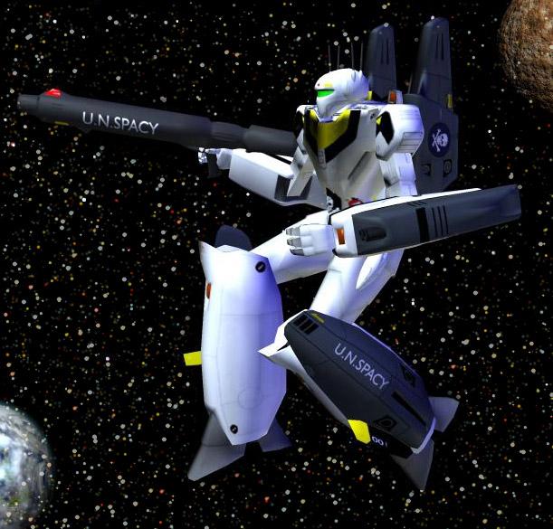 Robotech robot in space by gustvoc on deviantart - Wallpapers robotech 3d ...
