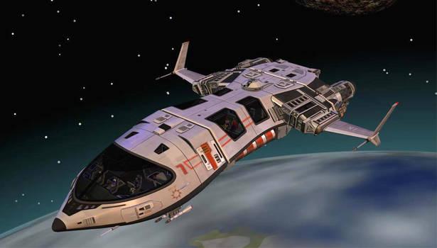 Vanguard Spaceship
