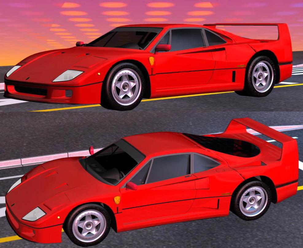 Ferrari F40 by Gustvoc
